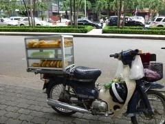 バイクの露天売り