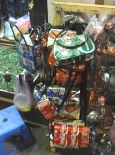 空き缶バッグ